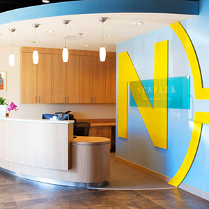 orthodontic and pediatric combined office design
